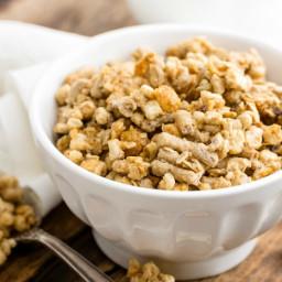 Crock-Pot Maple and Pecan Granola Recipe!