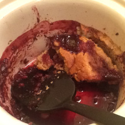 Crock Pot Mixed Berry Cobbler