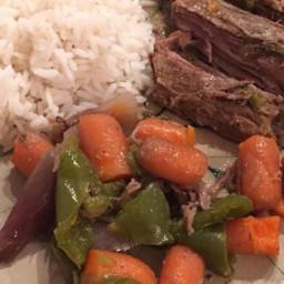 Crock Pot or Slow Cooked Flank Steak