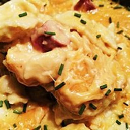 Crock Pot Pierogies and Sausage for 8 to 10 people (freezer meal directions