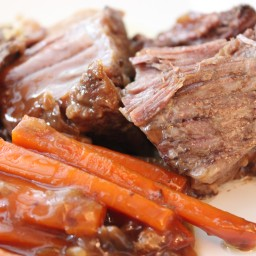 CROCK-POT ROAST BEEF DINNER