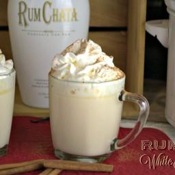 Crock Pot RumChata White Hot Chocolate