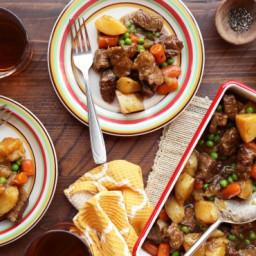 Crock Pot Rustic Lamb Stew