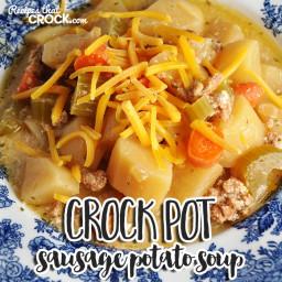 Crock Pot Sausage Potato Soup