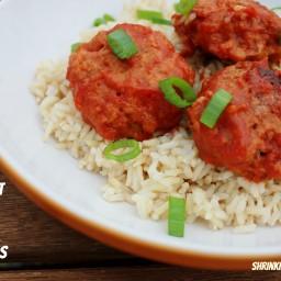 Crock Pot Savory Asian Meatballs