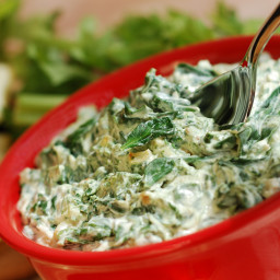 Crock Pot Spinach Artichoke Dip