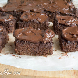 Crock Pot Sugar-Free Chocolate Quinoa Brownies