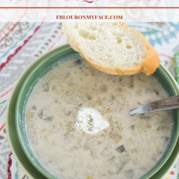 Crock Pot Summer Squash Soup