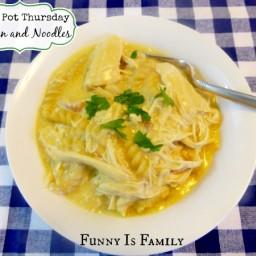 Crock Pot Thursday: Chicken and Noodles
