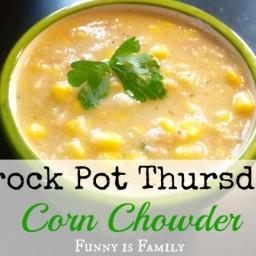 Crock Pot Thursday: Corn Chowder