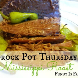 Crock Pot Thursday: Mississippi Roast