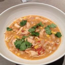 Crock Pot White Chicken Chili