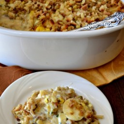 Crock-Pot Chicken and Stuffing