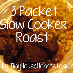 Crockpot 3-Packet Pot Roast
