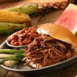 Crockpot BBQ Beef Sandwich