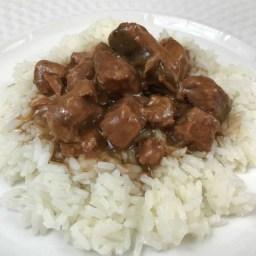 Crockpot Beef Tips and Gravy