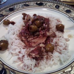 Crockpot Chicken with Olives