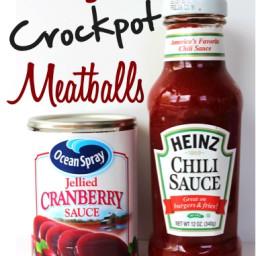 Crockpot Cranberry Meatballs Recipe