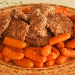 Crockpot Cubed Steak with Carrots