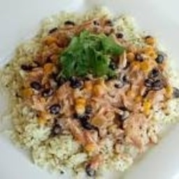 Crockpot Fiesta Chicken