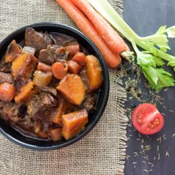 Crockpot Paleo Beef Stew