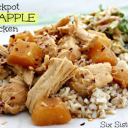 Crockpot Pineapple Chicken