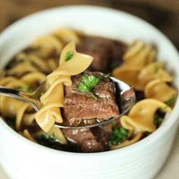 Crockpot Steak Soup