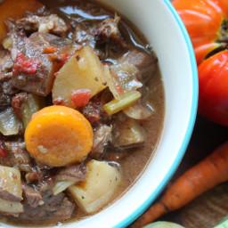 Crockpot Vegetable Beef Stew