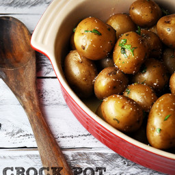 Crock Pot Parsley Potatoes