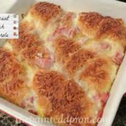 Croissant Egg Lasagna