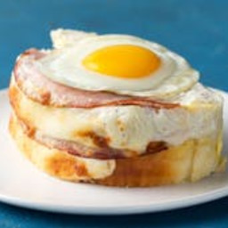 Croque Madame French Toast Loaf