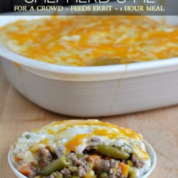 Crowd Pleasing Shepherd's Pie Recipe