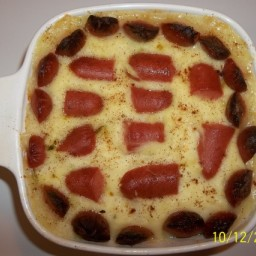 Crown Style Hot Dog Casserole