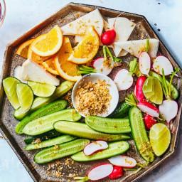 Crudités with Chile-Lime Salt