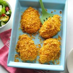 Crumb-Coated Ranch Chicken Recipe