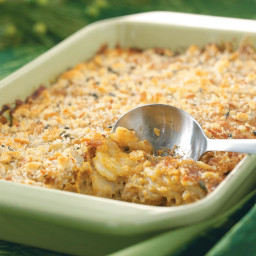 Crunchy Au Gratin Potatoes