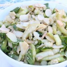 Crunchy Baby Bok Choy Salad