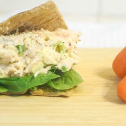 Crunchy Cabbage Tuna Salad