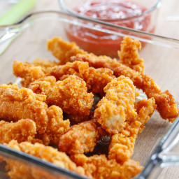 Crunchy Cereal Chicken Fingers