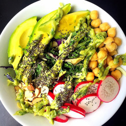 Crunchy Protein-Packed Summer Salad