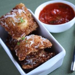 Crunchy Ravioli Bites