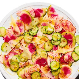 Crunchy Salty Lemony Salad