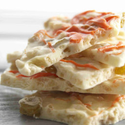 Crunchy White Chocolate-Orange Bark