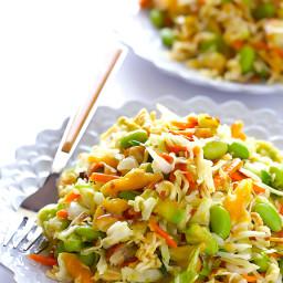 Crunchy Asian Ramen Noodle Salad (a.k.a. Basically the Best Potluck Salad E