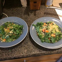 Crunchy Kale and Quinoa Salad