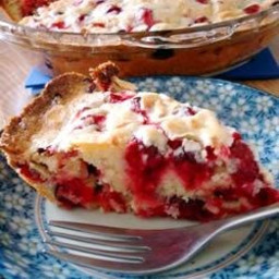 Crustless Cranberry Pie Recipe