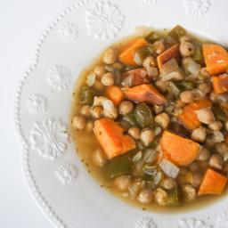 Cuban Garbanzo Bean Soup