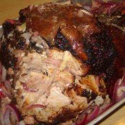 Cuban Roast Pork, Pernil O Pierna Asada Estilo Cubano