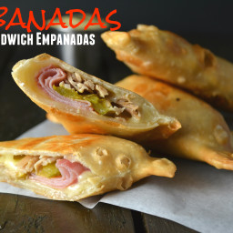 Cubanadas (Cuban Sandwich Empanadas)