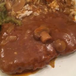 Cube Steaks Baked in Gravy